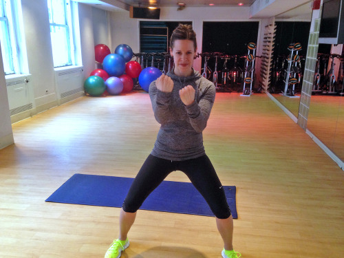 Burn fat fast with Jenna's 10-minute cardio workout
