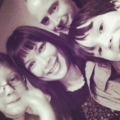 Diane Fornbacher and family
