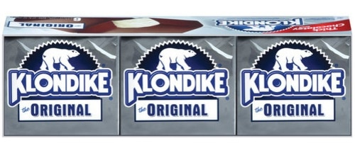 The Klondike Original ice cream bar