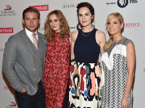 Image: Downton Abbey cast