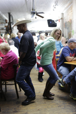 A zydeco breakfast at Café Des Amis in Breaux Bridge, Louisiana.