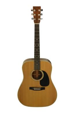 Elvis Presley's 1975 Martin D-28 guitar.