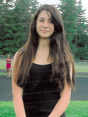 FILE-Conway, N.H. police released this photo of 14-year-old Abigail Hernandez of North Conway, N.H. Thursday Oct. 10, 2013. Senior Assistant Attorney ...