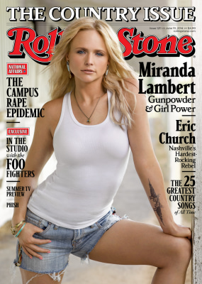 Image: Miranda Lambert on the cover of Rolling Stone