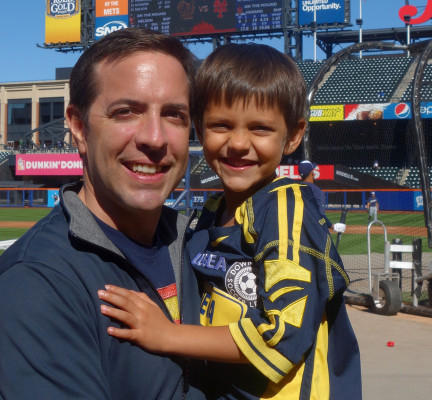 Matt Schneider is the co-founder of City Dads, a Meetup group for fathers.