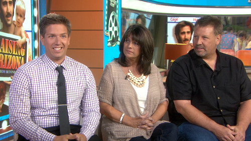 Kuhn, with parents Rhonda and Tom, told TODAY he wasn't cut out for full-time acting.