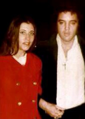JoCathy Elkington and Elvis Presley