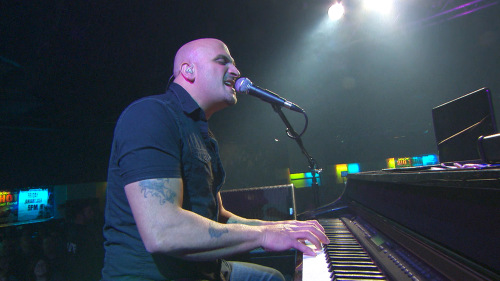Mike DelGuidice of Big Shot performs at a bar in Wantagh, Long Island