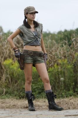 "IMAGE: Rosita on ""Walking Dead"""