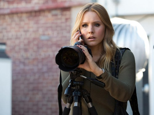 "Image: Kristen Bell in the ""Veronica Mars"" movie."