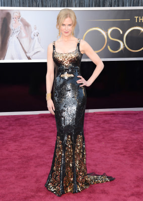 Actress Nicole Kidman, in a L'Wren Scott design, at the Oscars on Feb. 24, 2013.