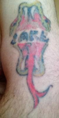 Jacob Blom's tattoo