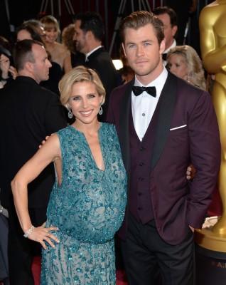 Image: Chris Hemsworth and Elsa Pataky