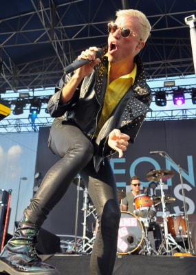 Image: Tyler Glenn of Neon Trees