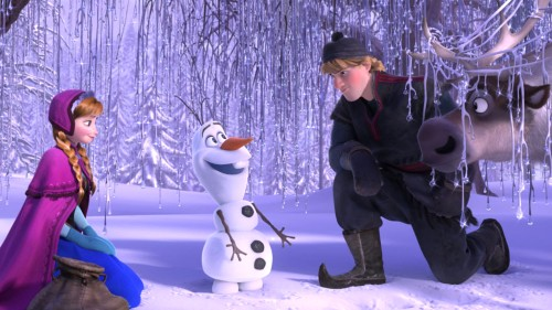 """Frozen"" is hot at the box office, even four months after its release."