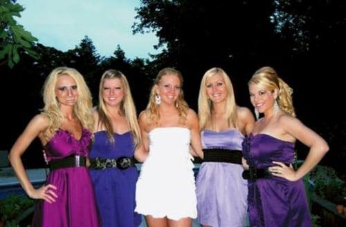 Rachelle Friedman Chapman and friends