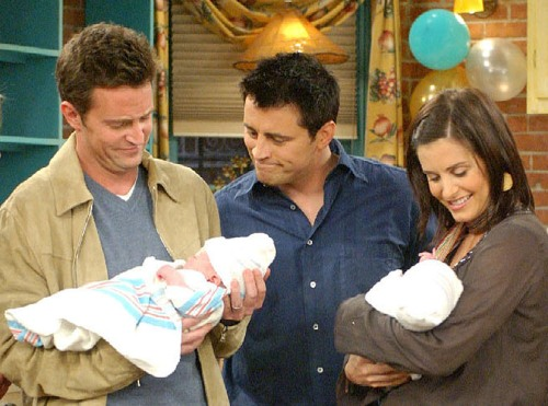 Image: Chandler, Joey, Monica