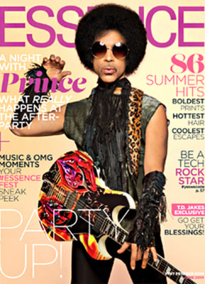 Prince on Essence magazine's cover.
