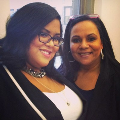 Blogger Valis Vicenty and her mom.