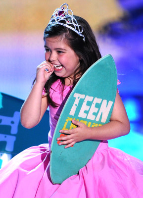Sophia Grace Brownlee knows something about the top baby name for girls in 2013.
