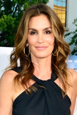 Cindy Crawford arrives at the Premiere of Lifetime Television's 'Return To Zero' at Paramount Theater on the Paramount Studio...