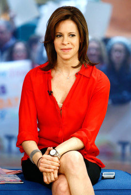 "TODAY -- Pictured: Jenna Wolfe appears on NBC News' ""Today"" show -- (Photo by: Peter Kramer/NBC/NBC NewsWire)"
