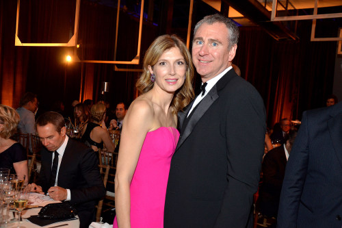 Anne Dias-Griffin, founder and managing partner of Aragon Global Management LLC, left, and Ken Griffin, chief executive officer and founder of Citadel...