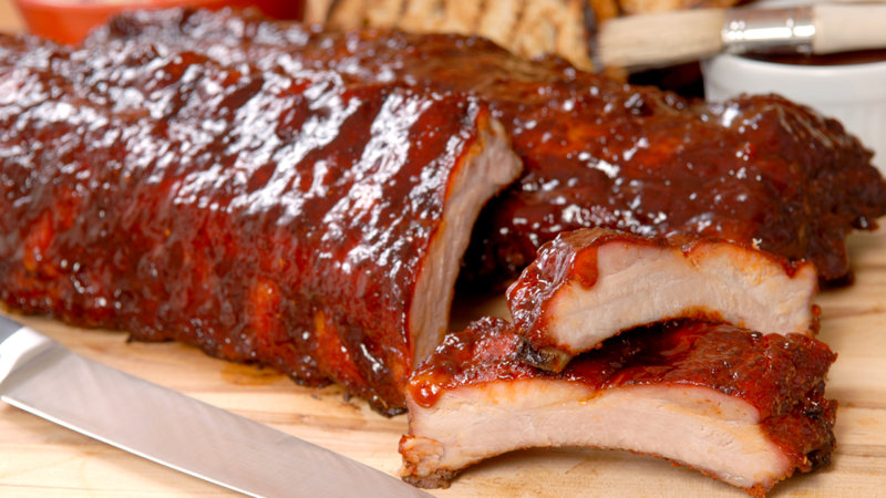 Spicy And Savory Barbecued Pork Ribs With Two Sauces Today Com,Easy Chinese Eggplant Recipes