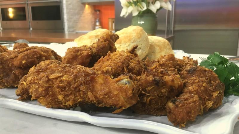 Crispy Buttermilk Fried Chicken Today Com