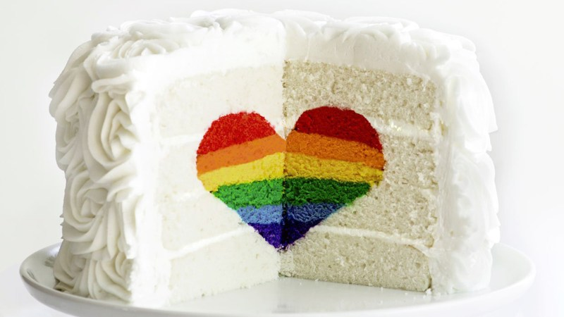 Tremendous Rainbow Heart Cake Today Com Personalised Birthday Cards Xaembasilily Jamesorg