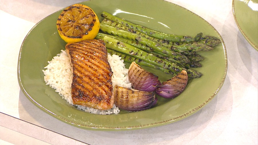 Bust out the grill for grilled ginger salmon, chipotle glaze, more