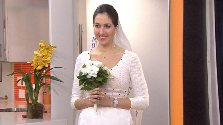 Angelina Jolies Wedding Dress Candy Crush 5 DIY Halloween Costumes