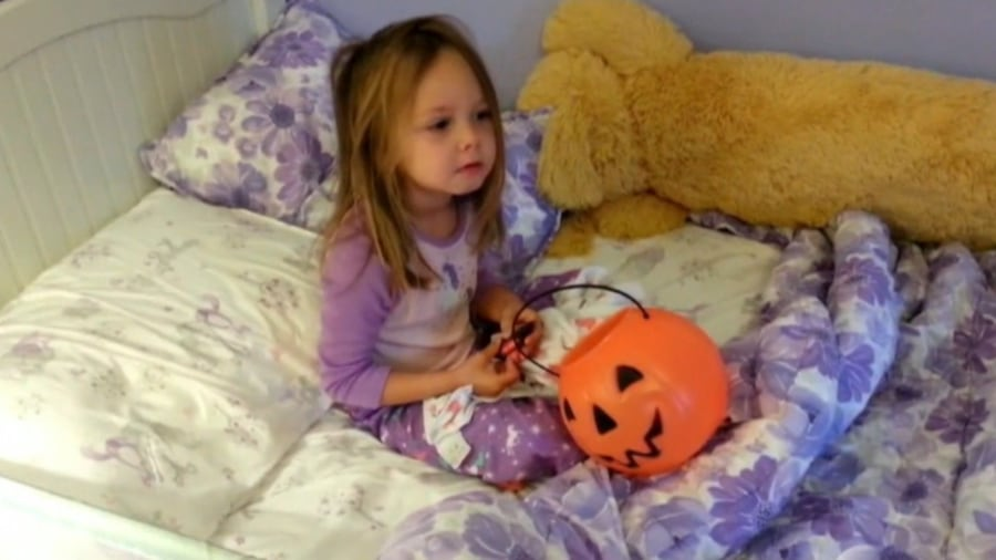 watch kids reactions to parents eating their candy - Halloween Candy Kids