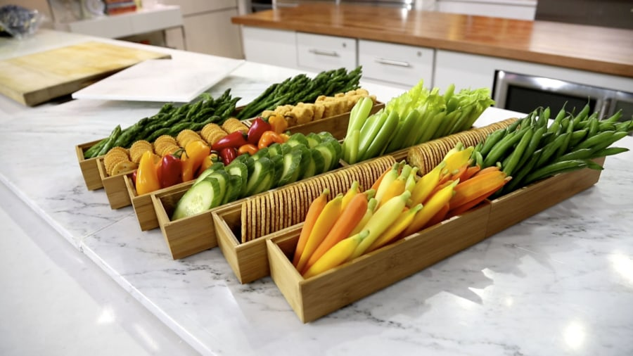 Crudit 233 S Party Trick Turn Vegetables Into A Stunning