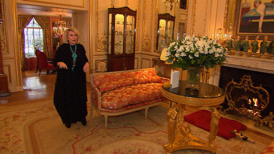 Joan Rivers Apartment Building take a peek inside joan rivers' larger than life new york city