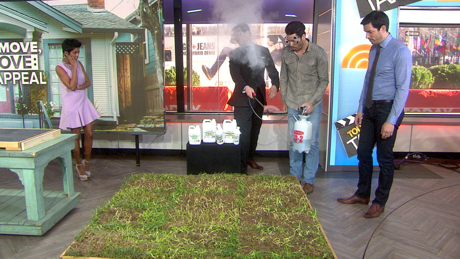 property brothers share curb appeal tips prank willie - Curb Appeal Tips