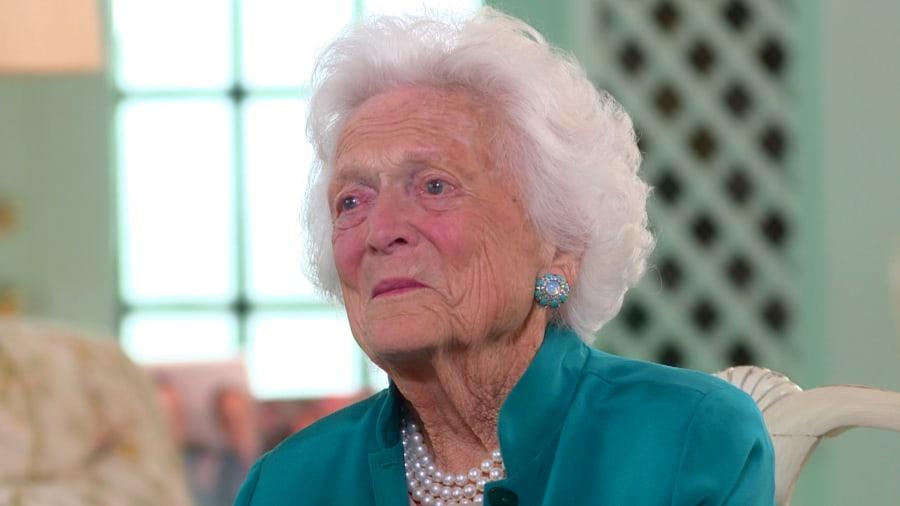 Barbara Bush Celebrates 90th Birthday Jenna Bush Hager T24861