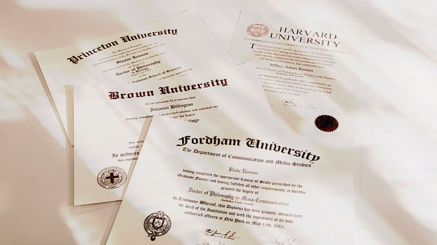 Fake diplomas for sale online: Doctorate degrees in deceit - TODAY.com