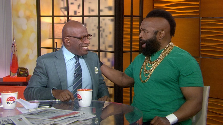 Mr. T surprises Al Roker with TODAY show appearance ...