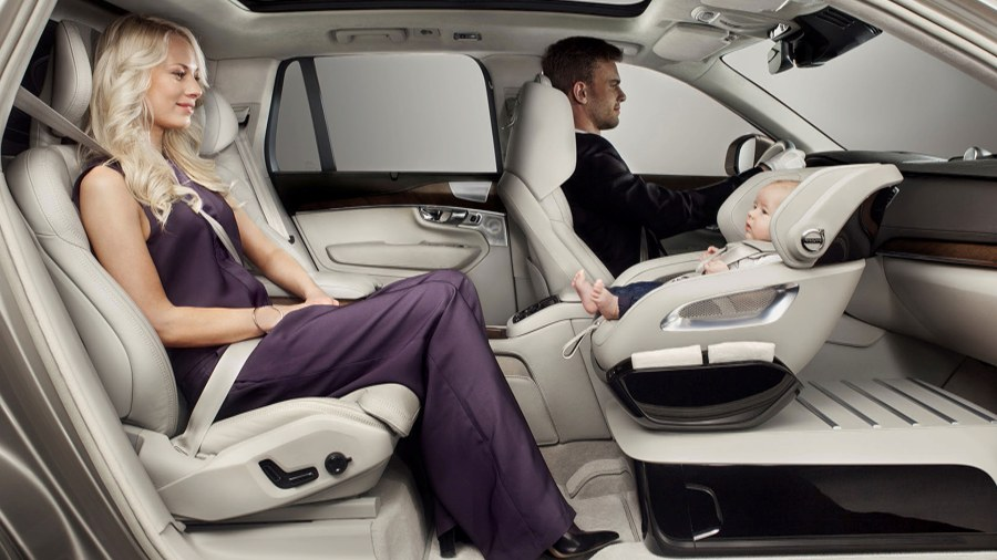 Volvo's new concept puts child car seat in front seat - TODAY.com