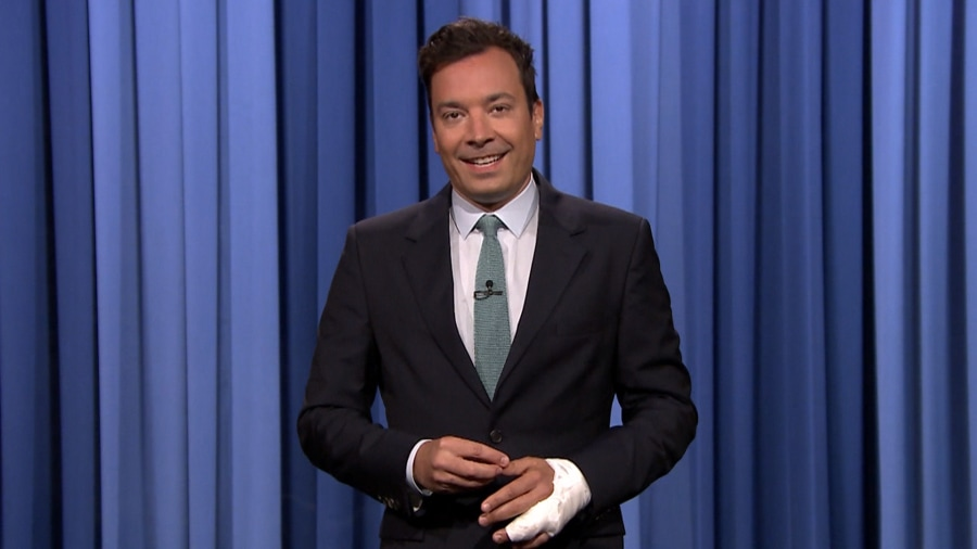 Jimmy Fallon Returns to 'Tonight'