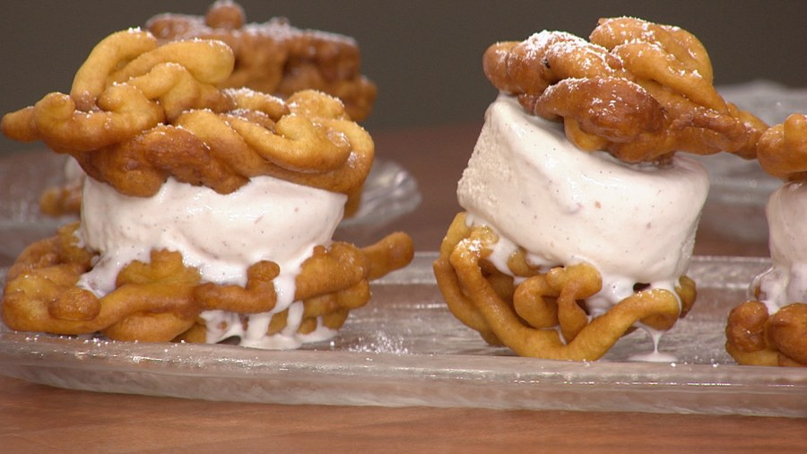 The funnel cake ice cream sandwich recipe you have to try
