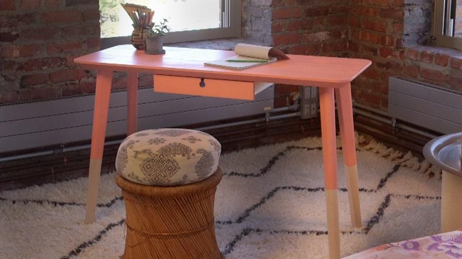Ikea Hack Lisabo Desk Gets A Makeover In Four Steps