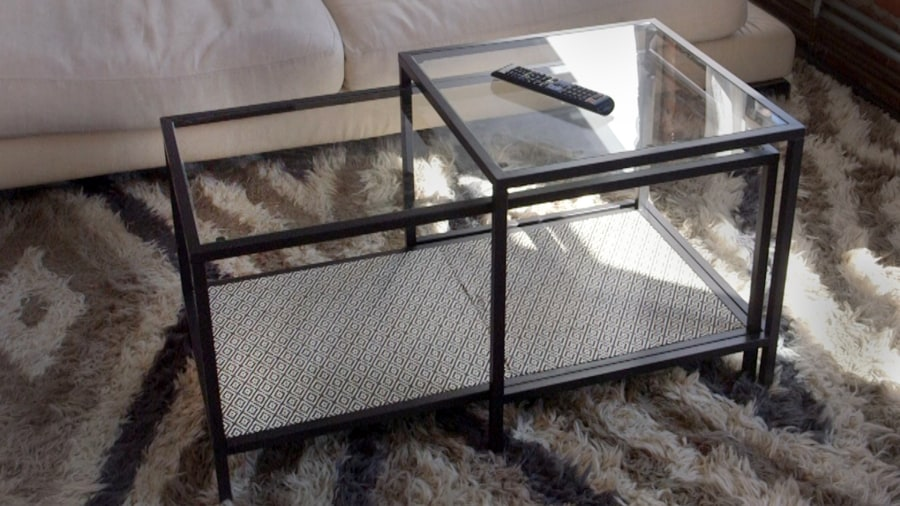 ikea hack: add style to your coffee table with this diy - today