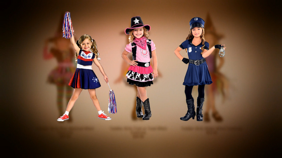 mom to party city your halloween costumes for girls are inappropriate - Girls Cop Halloween Costume