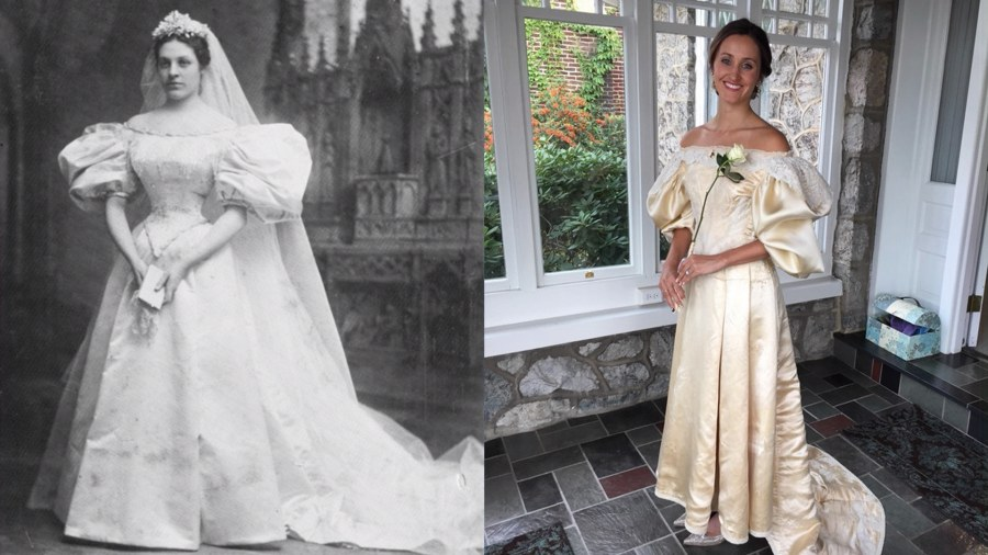 Bride Will Be 11th In Her Family To Wear The Same Wedding Dress