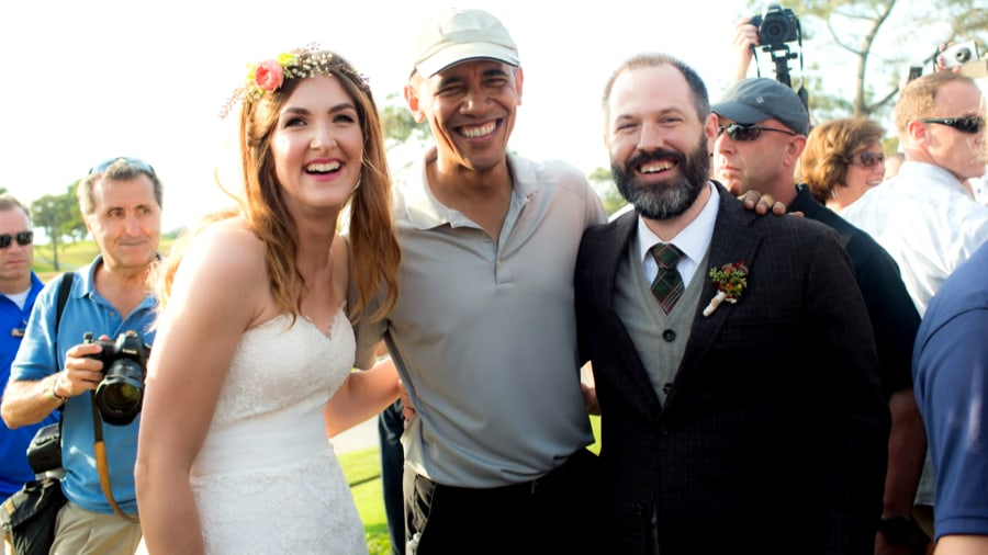 Couple invites Obamas to wedding, gets reply