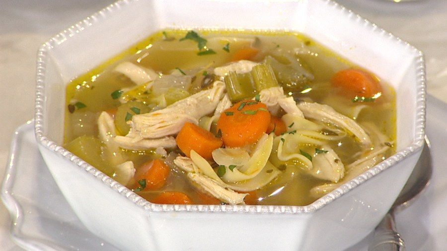 How to fix food thats too salty sour spicy or sweet today katie lee cooks classic chicken noodle soup forumfinder Image collections