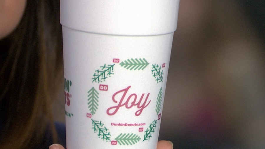 Are Dunkin' Donuts' new holiday cups a jab at Starbucks? - TODAY.com