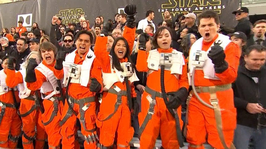 'Star Wars' ticket sales blast off as opening looms